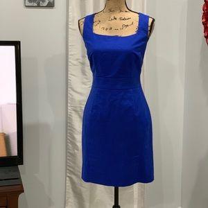 Banana Republic blue sheath dress size 8